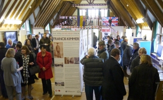 First World War Exhibition at the village hall 2014