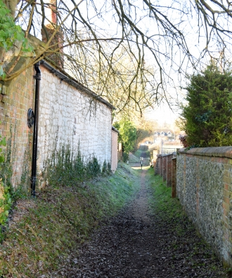 Village footpaths