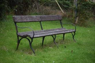 Village bench
