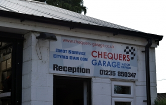 The Chequers garage