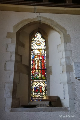 All Saints St Brings window