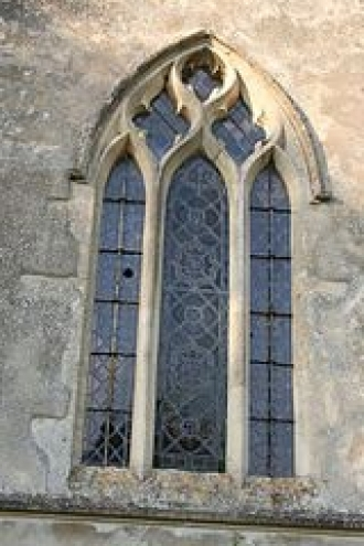 St Michael's window on South