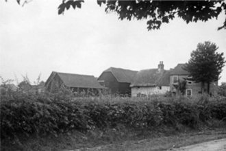The Croft, agricultural cottages - now Langdons