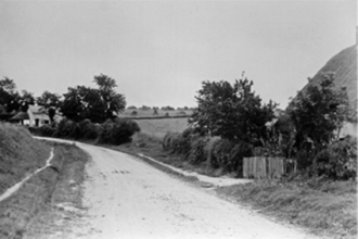 Chalk Hill, looking south