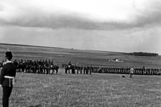 Churn Camp on the Downs, military manoeuvres - 1