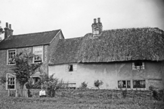 The Croft, agricultural cottages - now Langdons from the south
