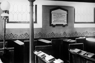 36. Spring Lane, United Reform Church interior