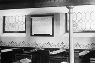 40. Spring Lane, United Reform Church interior - 2