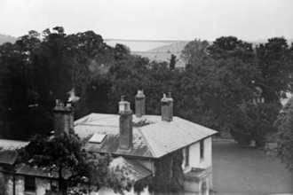 Aston Street, The Rectory from St. Michael's tower