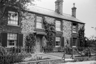Hagbourne Road,  Acacia Cottage - now Langford Cottage