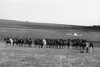 Churn Camp on the Downs, military manoeuvres - 3
