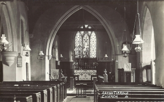 Inside St Michael's Church - Aston Tirrold