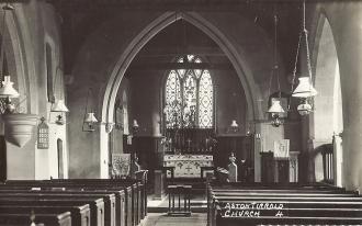 Inside St Michael's Church - Aston Tirrold