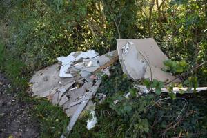 Fly Tipping along the Ridgeway